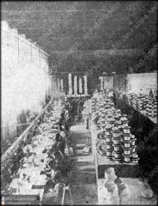 Πιλοποιείο Πουλόπουλου - Αίθουσα Συρραφής Ψάθινων Πίλων