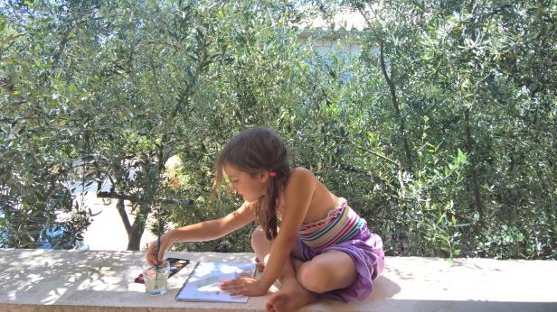 Ζωγραφίζοντας την ελιά