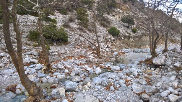 Εδώ που χάνεται το νερό