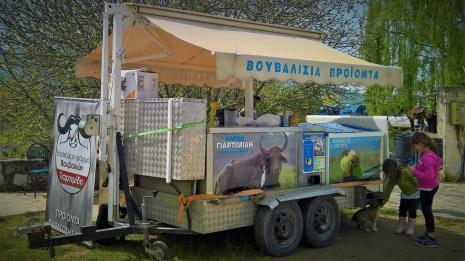 Παγωτά από βουβαλίσιο γάλα