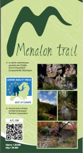 Menalon Trail map
