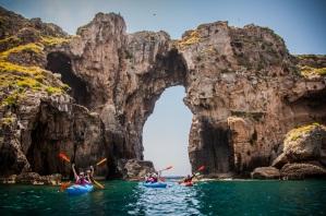 Θαλάσσιο κανό με την Explore Messinia
