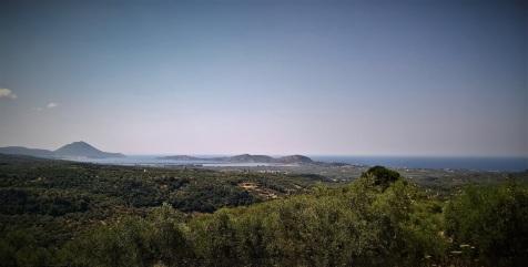 Η θέα από το Ανάκτορο του Νέστορα